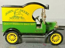 John Deere Gearbox Model T Delivery Car Coin Bank