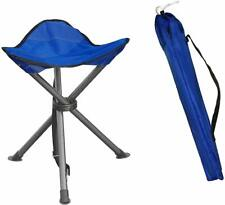 Portable Folding Stool Outdoor Square Slack Chair Lightweight For Camping Hiking