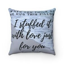 I miss you pillow The perfect gift to the ones you miss. Send a hug pillow