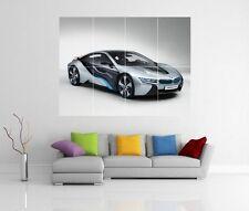 BMW I8 mission impossible protocole fantôme géant Mur Art Image Imprimé Poster H20