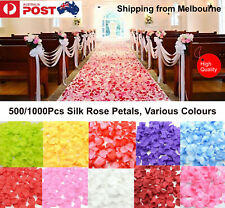 1000X Wedding Silk Rose Petals Bridal Flowergirl Basket Fake Flower Decoration