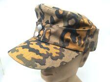 WWII GERMAN ARMY EM SUMMER PANZER M43 FIELD HAT FALL OAK CAMO CAP M