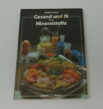 Gesund und fit durch Mineralstoffe, Gerhard Leibold, Hädecke Verlag, Buch