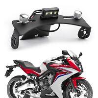 CNC Moto Support de plaque d'immatriculation Pour Honda CB650F CBR650F 14-19 AF