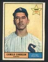 1961 Topps #509 Camilo Carreon NM/NM+ White Sox 73034