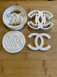 Fashion  fun Cookie Cutters 3D Printed Set Of 2 Cookie Cutters