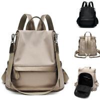 Convertible Water Resistant Backpack Rucksack Shoulder Bag Hobo Anti-Theft Retro