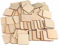 4mm Quadrat Holzscheibe Holz Scheiben Sperrholz Basteln 50 Stück 4cmx4cm Natur