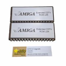 Extended Licensed Upgrade ROM Set U34 & U35 V2.30 for Amiga CDTV #618