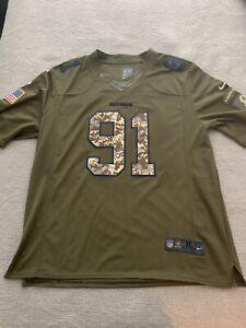 Ryan Kerrigan #91 - Washington Redskins Salute To Service Football Jersey - XL