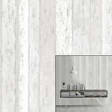Coloroll Urban Texture Beach Hut Driftwood Glitter Textured Feature Wallpaper