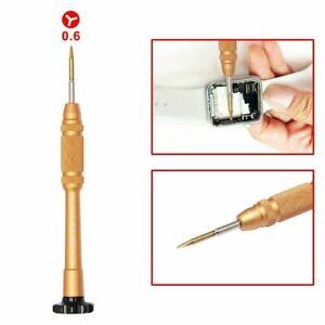 Y 0.6 mm Tri Wing Screwdriver for iPhone 7 8 Plus, iWatch Y000 repair tool kit