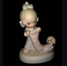 Precious Moments Porcelain Figurine: Christmas Joy From Head To Toe #E-2361