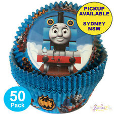 THOMAS THE TANK ENGINE PARTY SUPPLIES 50 CUPCAKE BAKING CUPS WILTON PATTY PANS