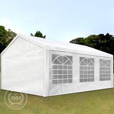 Partyzelt Pavillon 3x6m Festzelt Bierzelt Gartenzelt Vereinszelt Markt Zelt weiß