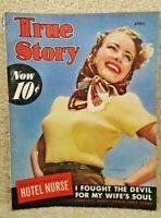 Vintage April 1942 True Story Magazine Volume 46 Number 3 Janet Blair