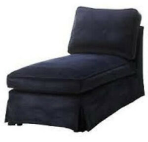 New Original Ikea Cover for Ektorp Chaise Longue in Vellinge Blue 002.268.53
