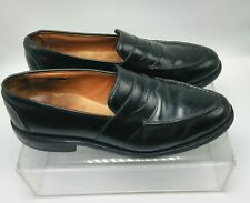 3a84c8c1edd Allen Edmonds Mens Randolph Black Dress Penny Loafer Sz 9.5 D