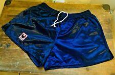 Vintage Uhlsport Shorts Gr. 7 Large Glanzshorts Glanzhose Shiny Pants Wet Look