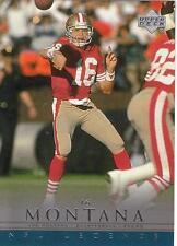 JOE MONTANA 2000 UD Legends card #71 San Francisco 49ers Football NR MT