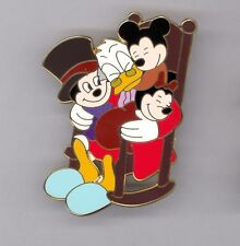 Disney Shopping Mickey's Christmas Carol Scrooge McDuck Catchit Kids LE100 Pin
