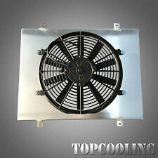 For Holden Commodore Calais VL 3.0L 6Cyl Turbo Aluminum Radiator Shroud &14''Fan