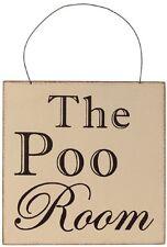 Novelty Toilet Decorative Plaques & Signs