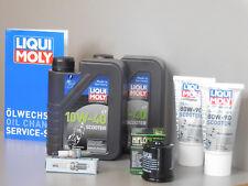 Sistema de mantenimiento GILERA NEXUS 250 Filtro aceite bujía Inspección