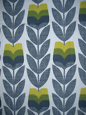 Orla Kiely Rosebud Scribble Corn Yellow 2.5m / 2m 250cm / 200cm drop new fabric