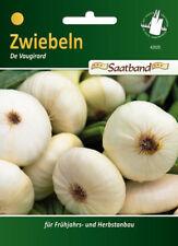 Zwiebeln 'De Vaugirard' - Allium cepa, Frühlingszwiebeln Saatband, 42025