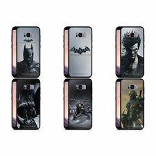 Batman: Arkham Origins clave de arte de vidrio negro Hybrid Funda trasera para Teléfonos SAMSUNG