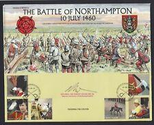 Battle of Northampton 1460 2005 Cover Signed Deputy Lieutenant Northamptonshire