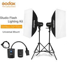 Godox 600Ws Studio Flash Light Photographic Kit + Light Stands+Trigger+SoftBox