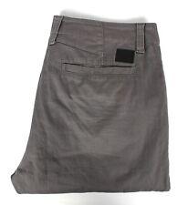 OAKLEY Mens Casual Pants Grey Straight Leg Size Waist 34''