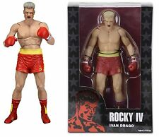 "NECA ROCKY 40TH ANNIVERSARY SERIES 2 IVAN DRAGO 7"" ACTION FIGURE RED SHORTS 18cm"