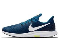 NIKE AIR ZOOM PEGASUS 35 Running Trainers Gym - UK Size 7 (EUR 41) Blue Force