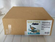 Van Dyke's Standing Pheasant Taxidermy Mounting Kit w/ Instructions & VHS Tapes