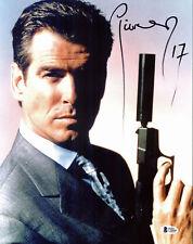 Pierce Brosnan James Bond 007 Authentic Signed 11x14 Photo Autographed BAS 1