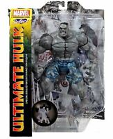 "Diamond Select Toys Marvel 8"" Gray Grey Ultimate Hulk Action Figure VHTF!"
