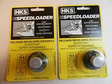 HKS Speedloader;  10-A;  6-Shot;  38 SPL 357 Mag;  2 Pack;  Fast & Dependable