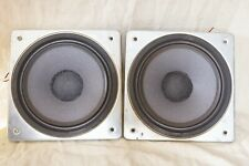 More details for vintage pair wharfedale xp2 8 ohm 8 inch woofer loudspeaker drivers.1970's