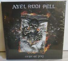 Axel Rudi Pell Game Of Sins Box Set LP + CD + Guitar + Sticker Vinyl Record new