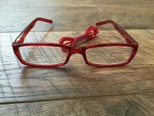Foster Grant Coloread Reading Glasses Red +1.50 With Matching Silicone Cord