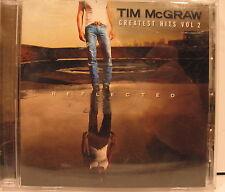 Greatest Hits, Vol. 2 by Tim McGraw (CD, Mar-2006, Curb) Used