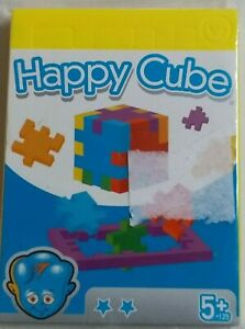 Happy Cube Puzzle A Cube-Box-Fun Game -Children-Girts-Birthday 3 pcs