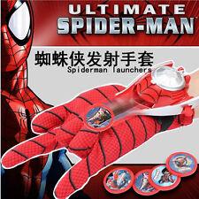 1 Ensemble Mignon Marrant Super Héro Spider-Man Lanceurs Gants Enfants Cos Jouet