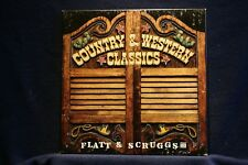 FLATT/SCRUGGS:C&W Classics:3-Record Collection in MONO on Near Mint Vinyl LPs