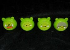 ANGRY BIRDS MATTEL KNOCK ON WOOD KIDS REPLACEMENT PARTS PIECES 4 GREEN PIGS