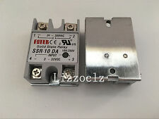 1PCS SSR10DA SSR-10DA Manufacturer 10A ssr relay,input 3-32VDC output 24-380VAC