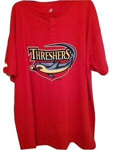 Majestic Clearwater Threshers Baseball Tee Size (2XL)